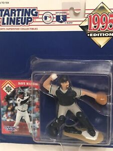 1995 Starting lineup Dave Nilsson Baseball figure Toy Card Brewers Catcher MLB