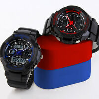 Mens Boys Waterproof Digital Shock Sports Wrist Watch Skmei LED Quartz 5 ATM