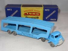 matchbox lesney BEDFORD CAR TRANSPORTER AC2