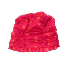 Red with flowers baby swim cap gymboree Nwt 6-12 months