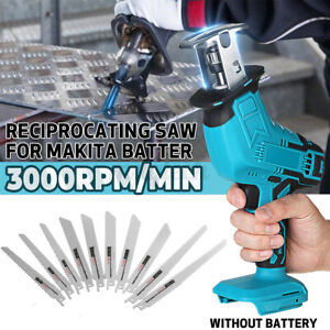 Portable Cordless Reciprocating Saw Replacement Electric Saw Blades Wood Cutting