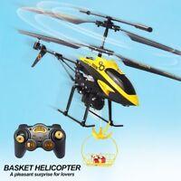 WLtoys V388 3.5CH Gyro RC Helicopter Drones Radio Control Aeroplane Toys Basket