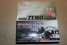 DRAGON WINGS 1:72 MITSUBUSHI A6M2 21/22  ZERO SABURO SAKAI IJN 12TH NAG  CHINA