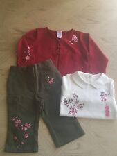 Gymboree Baby Girl 3pc Outfit Size 12-18M