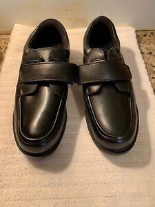 Dr Scholl's EZ Strap Double Air-pillo Insole Oxford Men's ShoeSize 9.5 3E Black