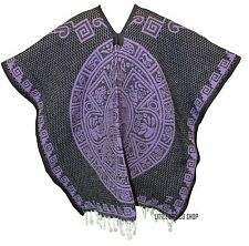 HEAVY BLANKET Mexican PONCHO - Tribal 22 - ONE SIZE FITS ALL Serape Gaban