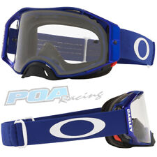 New 2021 Oakley Airbrake MX Goggle Moto Blue – Clear Lens