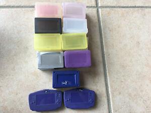 Gros lot boitier protection pour cartouche Nintendo Game Boy Advance gba