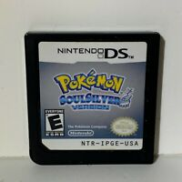 Pokemon SoulSilver Version Nintendo DS Authentic Tested Cart Only Soul Silver