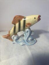 New listing Vintage Fish Tank Ceramic Bisque Aquarium Decor Decoration - Made in Japan