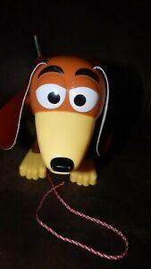 1999 Disney Pixar Toy Story Slinky Dog Pull Toy W/ Wheels Vintage