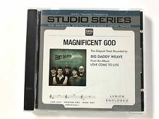 Studio Series - Big Daddy Weave - Magnificent God - accompaniment track cd
