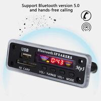 Car Speaker Module FM Radio USB SD Card Wireless Bluetooth 5.0 MP3 Decoder Board