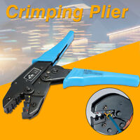 For Crimping Pliers Insulated Terminals Ratchet Tool AWG 22-10 0.5-6.0mm