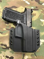 Black Kydex Holster for Glock 19 P80 (Polymer80)