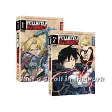 FMA Fullmetal Full Metal Alchemist Complete Series Season 1 & 2 Box / DVD Set(s)
