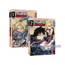 FMA Fullmetal Full Metal Alchemist Complete Series Season 1 & 2 Box / DVD Set(s)