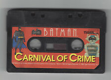 Tiger Electronic 2Xl Talking Robot Cassette Tape Batman Carnival Of Crime Tested