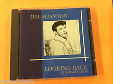 Del Shannon Looking Back His Biggest Hits Music CD