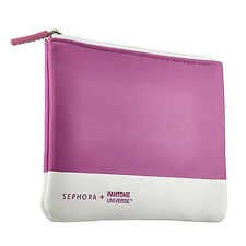 NEW Sephora + Pantone Universe Radiant Orchid Lim-Ed Cosmetic Bag Pink Purple