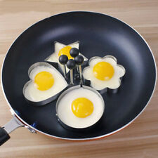 Stainless Steel Fried Egg Shaper Pancake Mould Mold Ring Cooking  Kitchen Tool