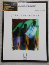 Edwin McLean Jazz Nocturnes Early Advanced Piano Unused