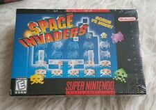 SPACE INVADERS  ---  SEALED NTSC SNES