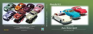 Faller AMS & HitCar Porsche 911 Buch 300+ Seiten 151 verschiedene Fahrzeuge NEU