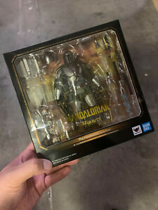 S.H. Figuarts Star Wars Mandalorian Beskar Metal Armor Ver. BANDAI IN STOCK USA