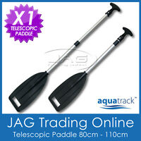 1 x H/DUTY TELESCOPIC ALUMINIUM OARS PADDLE - Boat/Canoe/Kayak/Inflatable/PWC