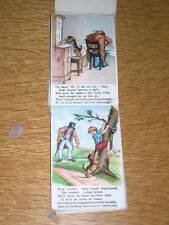 "VERY RARE DACHSHUND DOG STORY BOOK 1ST 1880 ""MASTER CHUBB & HIS DOG"" COLOR ILLUS"