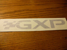 PONTIAC GRAND PRIX BONNEVILLE SOLSTICE TORRENT G8 G6 GXP DECAL