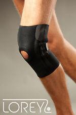 Bandage de genou, Support de genoux en néoprène fermeture scratch