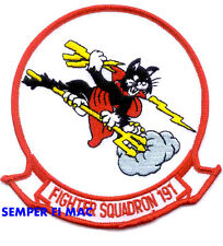 VF-191 SATAN'S KITTENS HAT PATCH US NAVY F-14 TOMCAT FIGHTER SQUADRON NAS NAF