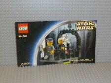 LEGO® Star Wars Bauanleitung 7201 Final Duel II ungelocht instruction B2356