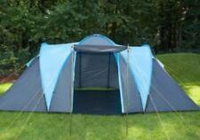 Skandika Hammerfest 4 Person Berth Man Family Tent vis a vis 2 rooms Blue Canopy
