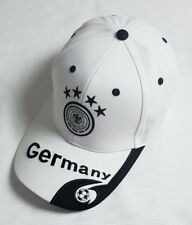New White World Cup Soccer Germany Cap Golf Baseball Adjustable Football Hats