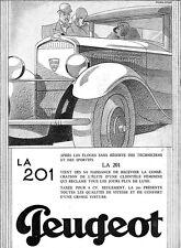PEUGEOT LA 201 by Dorland BAS GUI Stockings ART DECO 1930 French Magazine Ads