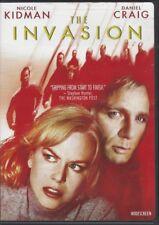 THE INVASION (DVD, 2008, Widescreen, Nicole Kidman, Daniel Craig) - LIKE NEW