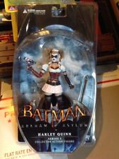 BATMAN ARKHAM ASYLUM HARLEY QUINN ACTION FIGURE PINK SKIRT VAR SERIES 1 DC 2011