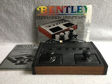 Used BENTLEY COMPUVISION Vintage Video Game NOS 440 TV Electronic Game Console