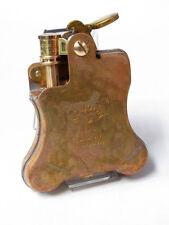 Ronson Banjo Steampunk Design Oil Lighter Japanese Made in JAPAN Wild Brass F/S