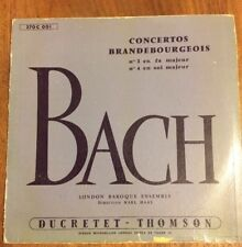 Unique 33T LP - DUCRETET THOMSON - 270 C 001- BACH Concertos Brandebourgeois