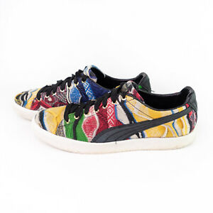 Puma X Coogi Australia Collaboration Clyde Multicolor Sneaker Shoe Size US 9