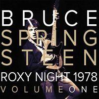 1978 ROXY NIGHT VOL 1  by BRUCE SPRINGSTEEN  Vinyl Double Album  LETV386LP