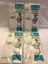 NOS New Vtg 1983 Jockey MIDWAY Boxer Brief USA Men WHITE All Cotton Underwear 38