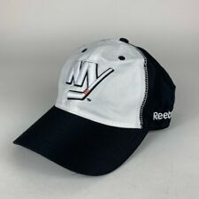 New York Islanders NHL White Black Reebok Adjustable Hat Mens One Size New