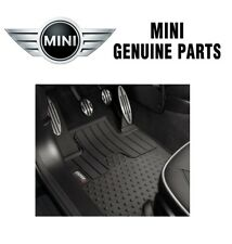 For Mini Cooper Countryman R60 All Weather 5pc Black Rubber Floor Mats Genuine