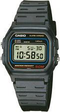 CASIO W59 Retro Armbanduhr schwarz Classic Armband Quarz digi Uhr Dornschließe !