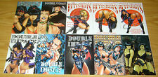 Double Impact #1-7 VF/NM complete series + vol. 2 #1-3 + (3) variants + hellina